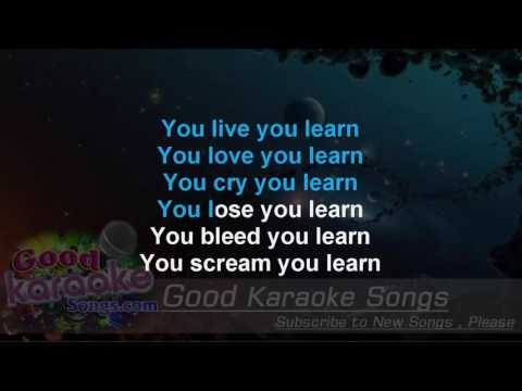 You Learn -  Alanis Morissette ( Karaoke Lyrics )