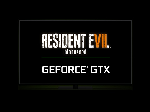 Resident Evil Biohazard на GeForce GTX
