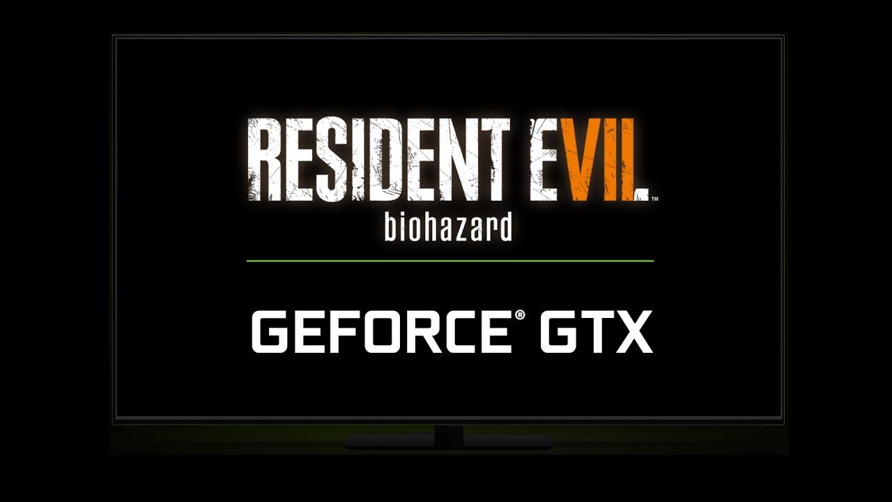 Resident Evil Biohazard на GeForce GTX