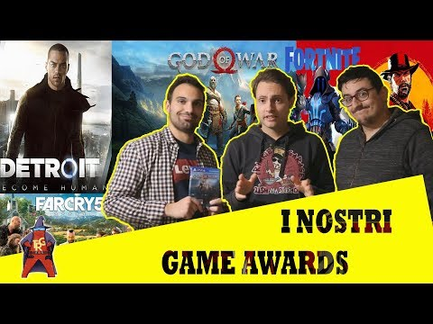 The Rolling Gamers [Pillole #3] - I nostri Game Awards 2018 #thegameawards #oscarvideogiochi