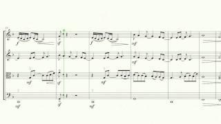No Surprises (by Radiohead), for string quartet