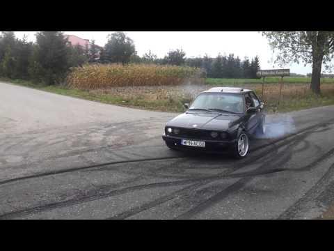 BMW E30 325 Palenie Gumy