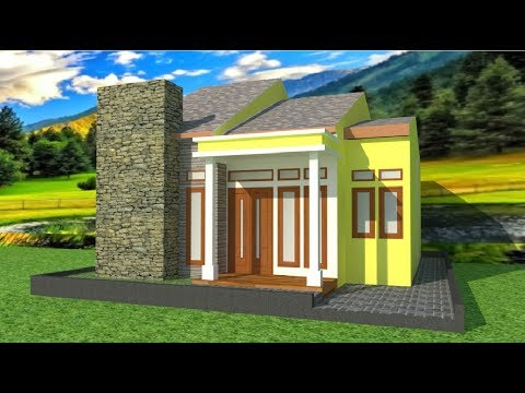Sketchup Tutorial Minimalis House With Rendering PART 1