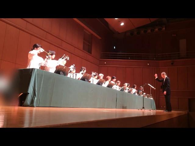 Handbell ハンドベル Come Thou Long Expected Jesus, Kobe YMCA Bell-choir (Dir. Nozomu Abe) 2017 Dec