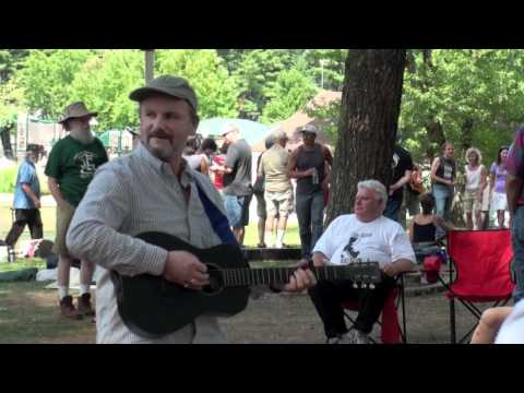 "Anthony John Clark ""Tuesday Night Is Always Karaoke"" - Huntington Folk Festival 2010"