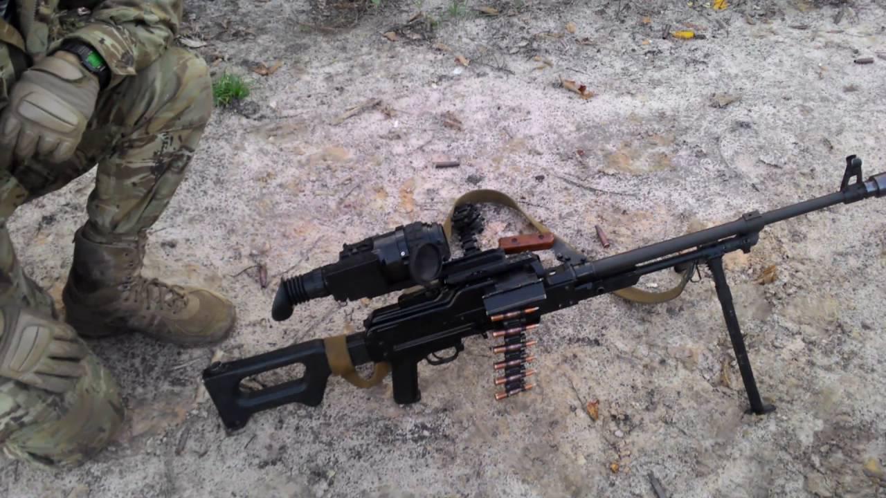 Страйкбольный пулемёт M60VN (M60VN AEG) и станок для пулемётов М60 .