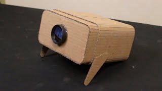 Projetor para celular feito de papelão  Faça Você Mesmo #21