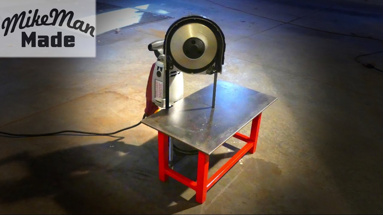 M 3 Portable Bandsaw Table Build