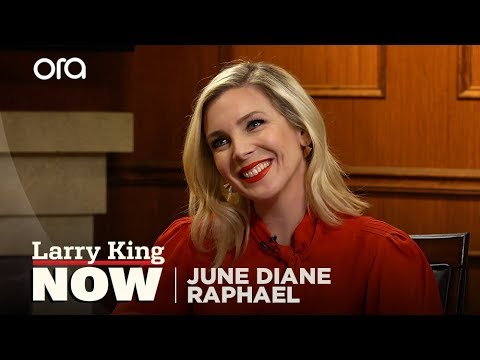 Trump's election got June Diane Raphael to confront her privilege