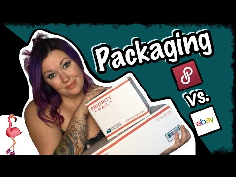 Poshmark vs. eBay Packaging and Shipping. Do's, Don'ts and Tips!