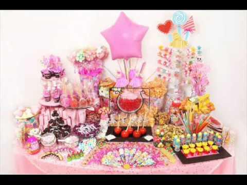 Mesas de postres para eventos youtube for Mesas dulces para eventos