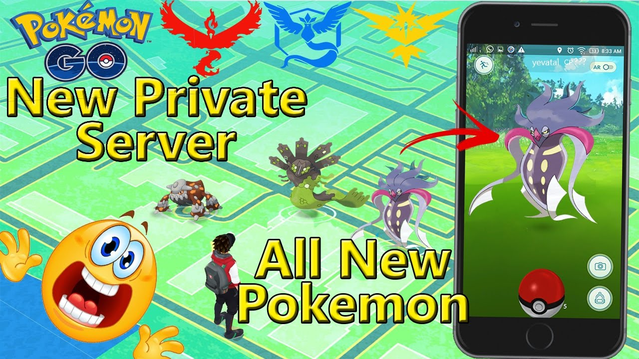 Pokemon Go Server