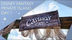 Disney's Private Island   Day 7   Disney Cruise's Castaway Cay Vlog   January 2019   Adam Hattan