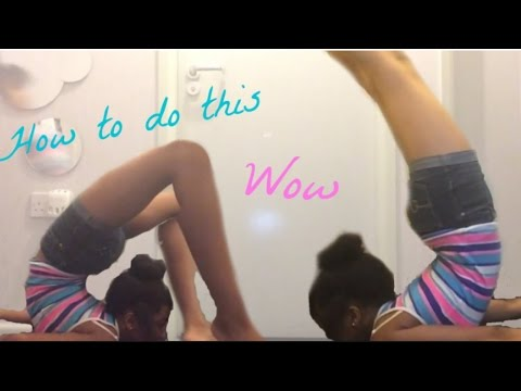 How To Do A Beginner Chest stand In One Day!!!!