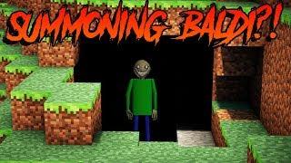 SUMMONING BALDI IN MINECRAFT VR?! - Minecraft VR Gameplay & Roleplay - Vivecraft