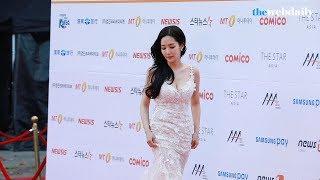 [WD영상] 수지-민효린-박민영-김태리, 여배우들의 2017 AAA 레드카펫 드레스