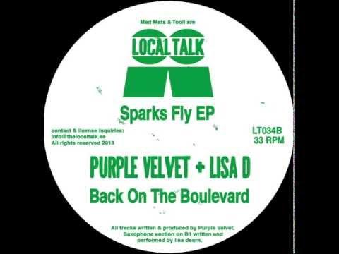 Purple Velvet & Lisa D  - Back On The Boulevard (12'' -  LT034, Side B1) 2013