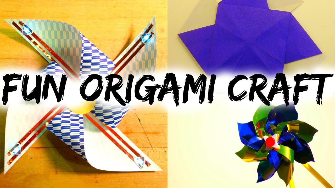 origami pinwheel how to make an easy origami pinwheel
