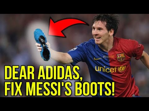a5866f951 WHY ARE MESSI S FOOTBALL BOOTS SO UGLY  - YouTube