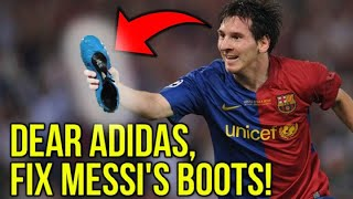 WHY ARE MESSI'S FOOTBALL BOOTS SO UGLY?