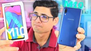 Galaxy M10 - UM ERRO DA SAMSUNG? Unboxing e Impressões!
