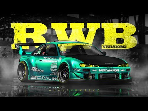 RAUH-Welt Nissan Silvia S14 K V2 [TIMELAPSE] [PHOTOSHOP] [VIRTUAL TUNING]