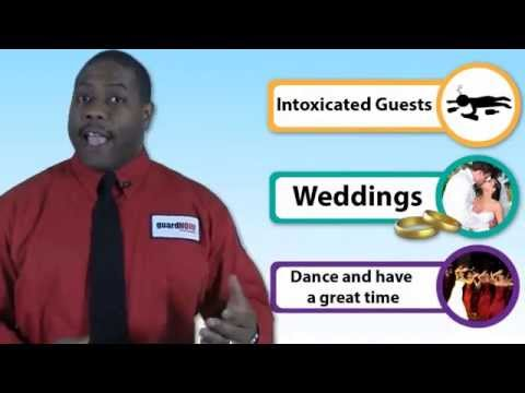 Intoxicated Guests At Weddings, Parties, And Events - Security Tips W/guardNOW Franchisee Nate Brown