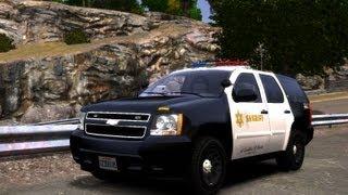 GTA IV:LCPD Mod - حرامي السيارات : مود الشرطة 3# - الجمس