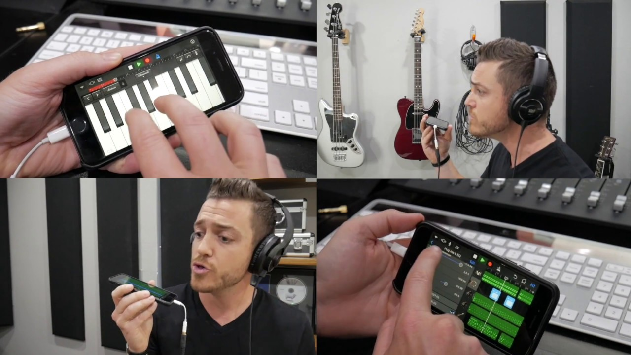 How I Recorded and Mixed a Song On My iPhone - RecordingRevolution com