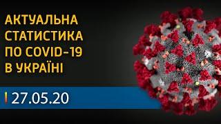 Коронавирус в Украине 27 мая СТАТИСТИКА Вікна Новини