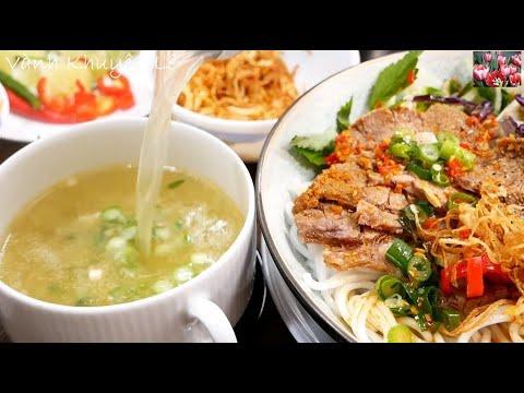 BÚN BÒ HUẾ KHÔ – Món ăn mới lạ chưa ai chia sẻ – Bún Bò 2 Tô – Cách nấu Bún Bò Huế by Vanh Khuyen