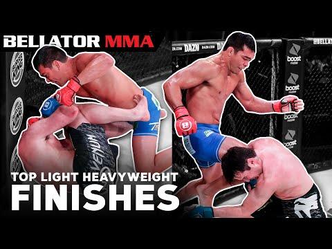 BEST Light Heavyweight Finishes   Bellator MMA