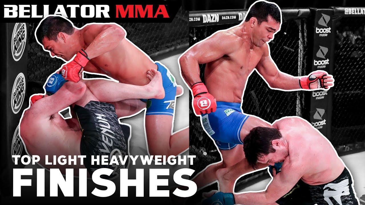 Download BEST Light Heavyweight Finishes | Bellator MMA