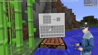 MINECRAFT 1.11 en Realidad Virtual - Directo resubido 10 Dic 16 -