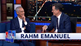Rahm Emanuel: Mayors Are On The Rise Because Americans Believe In Their Local Government