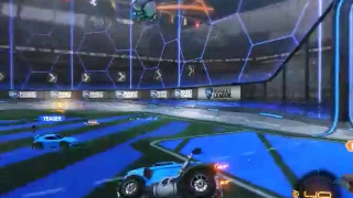 Playing Rocket League