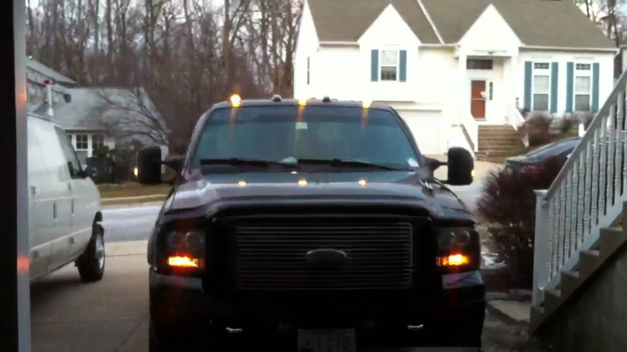 F250 Atomic Led Cab Lights Youtube