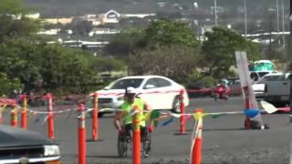 2014 Ultraman Hawaii - Run Finish  -  Part 1