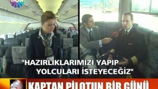 Türk Hava Yolları kaptan pilot, Deniz Gülen