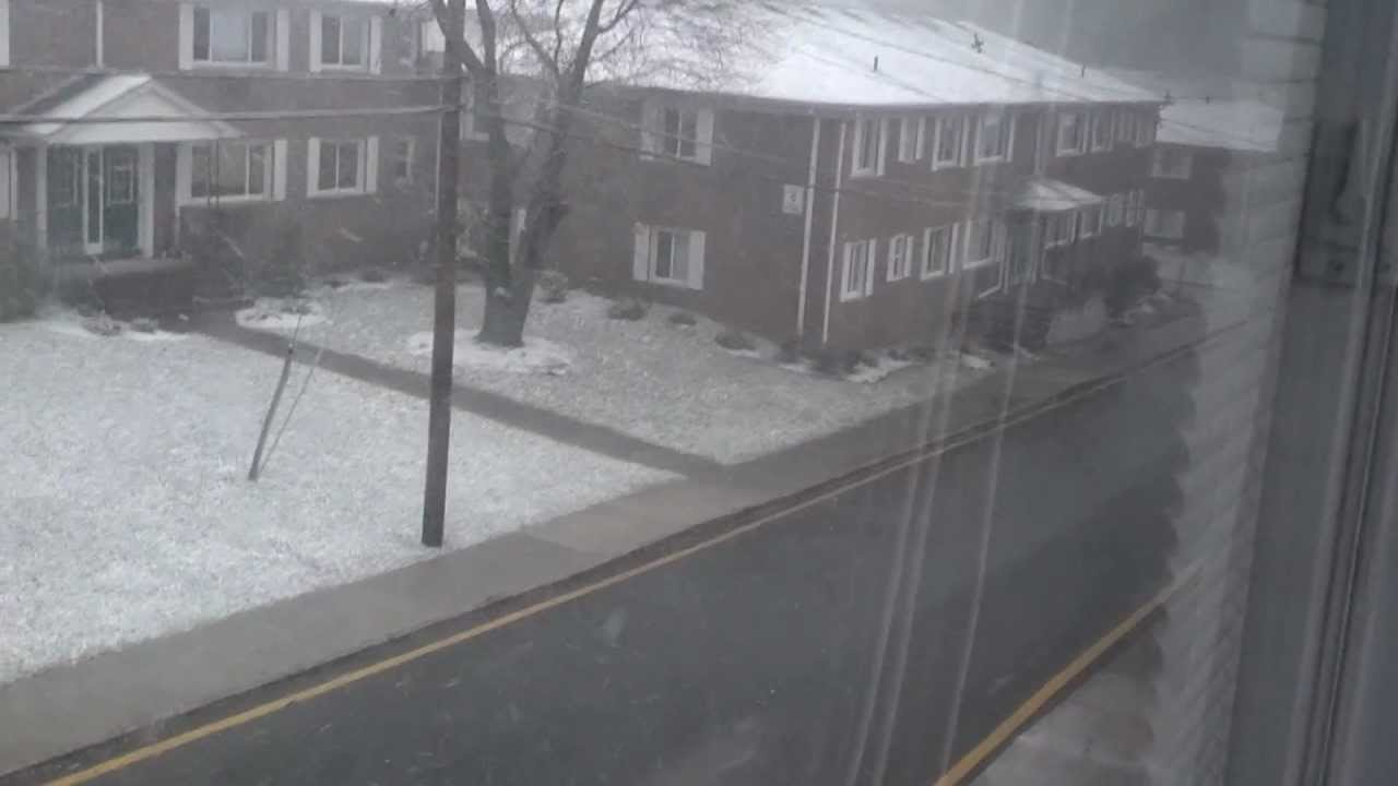 Westgate gardens parsippany nj snow day - YouTube