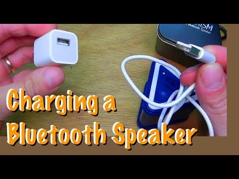 How To Charge Bluetooth Speaker Blue Prism Youtube