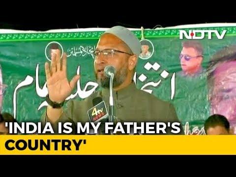 'India My Father's Country': Asaduddin Owaisi Responds To Yogi Adityanath