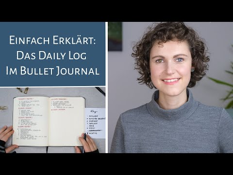 Daily Log im Bullet Journal I Rapid Logging I Einfach erklärt I Deutsch