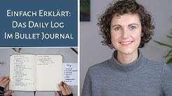 Daily Log im Bullet Journal I Rapid Logging I Einfach erklärt I Deutsch