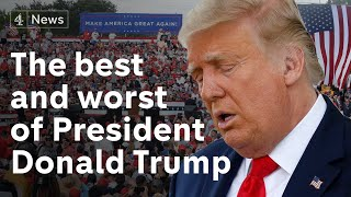 The best and woŗst moments of Donald Trump's presidency