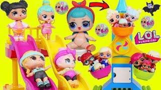 LOL Surprise Dolls Lil Sisters at Duplo Fair Playset