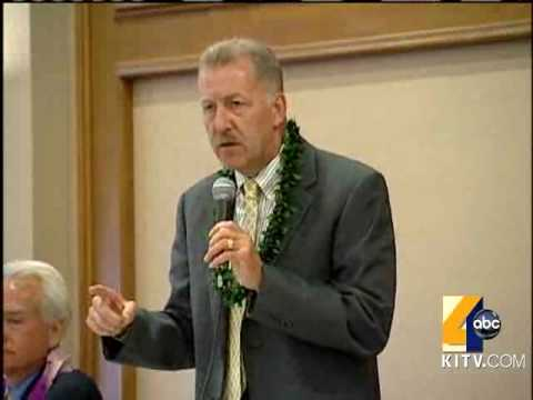 Caldwell Steps In For Honolulu Mayor