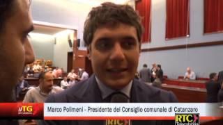 Catanzaro/ Marco Polimeni Eletto Presidente Del Consiglio Comunale Rtc Telecalabria
