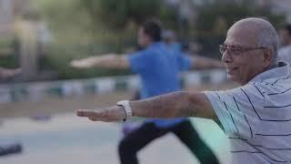 Yoga at Nishter Park,Karachi