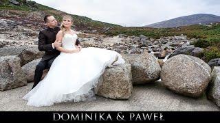 Dominika & Paweł - Wedding Clip - Poland / Ireland - Teledysk ślubny 2014 // www.art-foto-video.pl(Zapraszamy na : http://www.art-foto-video.pl Lokalizacja : Świętochłowice, Poland - Dublin , Wicklow Mountains National Park , Ireland Sala : Zielony Ogród ..., 2015-03-28T18:22:01.000Z)
